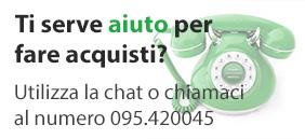 contattaci tramite chat o telefonicamente